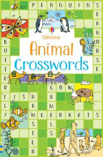 ANIMAL CROSSWORDS BOOK #544669