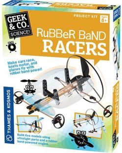 RUBBER BAND RACERS-GEEK & CO.