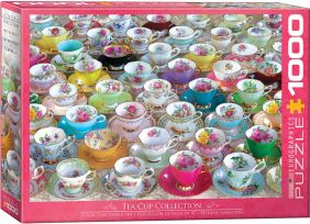 TEACUP COLLECTION 1000-PIECE P