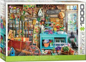 THE POTTING SHED 1000-PIECE PU