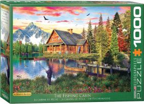 THE FISHING COTTAGE 1000-PIECE