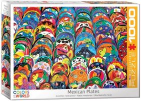 MEXICAN CERAMIC PLATES 1000-PI