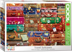 TRAVEL SUITCASES 1000-PIECE PU