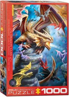 DRAGON CLAN 1000-PIECE PUZZLE