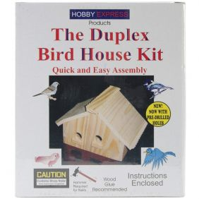 THE DUPLEX BIRD HOUSE KIT #600