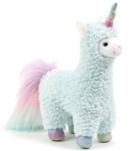 COTTON CANDY LLAMACORN 11""