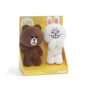 BROWN & CONY-LINE FRIENDS SET