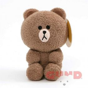 "LINE FRIENDS BROWN BEAR 7"" PLU"