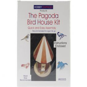PAGODA BIRD HOUSE KIT #60005 B
