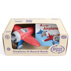 AIRPLANE & BOARD BOOK-GREEN TOYS