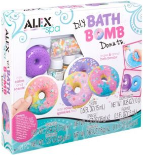 DIY BATH BOMB DONUTS SPA KIT #