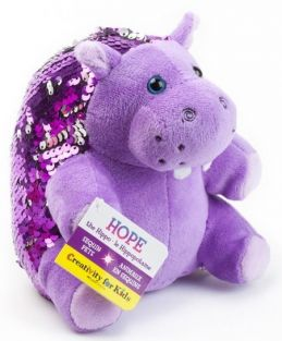 HOPE THE HIPPO-MINI SEQUIN PET