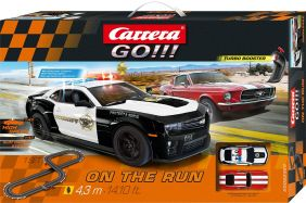1/43 GO!!! ON THE RUN SLOT CAR