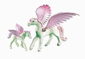 PEGASUS WITH FOAL ADD-ON