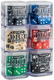 DICE CUBE #65-36 FOR WARHAMMER