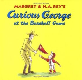 CURIOUS GEORGE AT THE BASEBALL