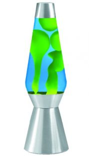 "27"" LAVA LAMP-YELLOW & BLUE WI"