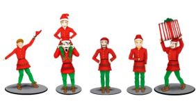 O POLAR EXPRESS ELVES FIGURE S