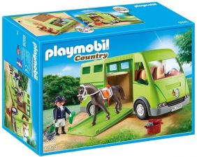 HORSE TRANSPORTER-COUNTRY SET