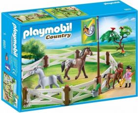 HORSE PADDOCK-COUNTRY SET