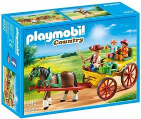 HORSE-DRAWN WAGON-COUNTRY SET