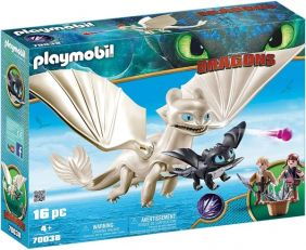 LIGHT FURY-DRAGONS PLAYSET