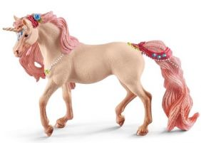 DECORATED UNICORN MARE FIGURE