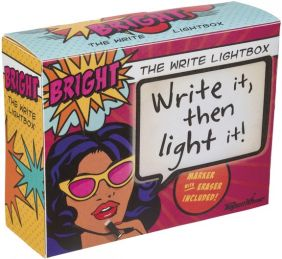 THE WRITE LIGHTBOX