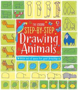 STEP-BY-STEP DRAWING ANIMALS BOOK