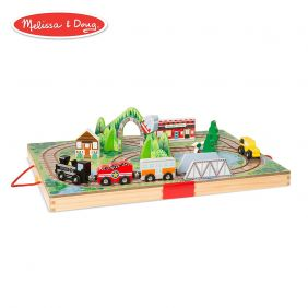 TAKE-ALONG RAILROAD PLAYSET #3