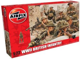 1/72 WWII BRITISH INFANTRY FIGURES