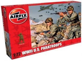 1/72 WWII US PARATROOPS FIGURE