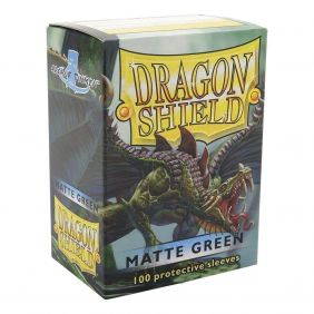 DRAGON SHEILD GREEN MATTE 100