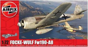 1/72 FW190A8 WWII FIGHTER PLAN