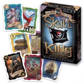 SKULL KING CARD GAME BASE AND