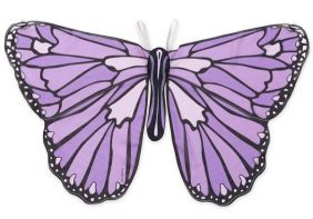 PURPLE COLORFUL BUTTERFLY WING