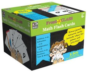 FRONT OF THE CLASS MATH FLASH CARDS-6 SE
