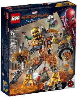 MOLTEN MAN BATTLE-SPIDER-MAN SET