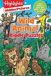 HIGHLIGHTS WILD ANIMAL RIDDLE