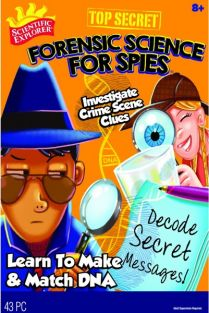 FORENSIC SCIENCE FOR SPIES KIT