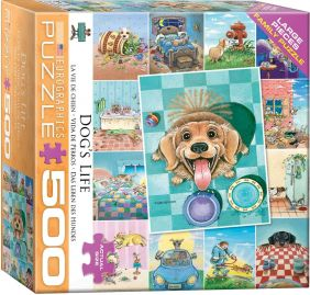 DOG'S LIFE 500PC FAMILY PUZZLE
