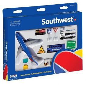 SOUTHWEST B737 PLAYSET 13-PIEC