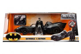 1/24 '89 BATMOBILE W/BATMAN