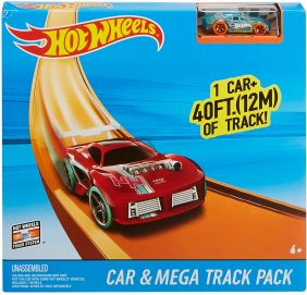 HW CAR & MEGA TRACK PACK
