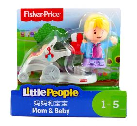 LITTLE PEOPLE MOM/STROLLER 2PK