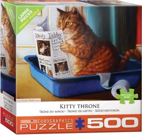 KITTY THRONE 500PC PUZZLE #850