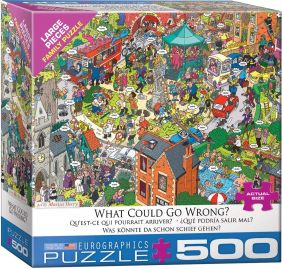 WHAT COULD GO WRONG? 500PC PUZ