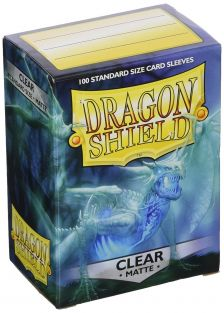 DRAGON SHIELD MATTE CLEAR 100