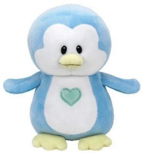 TWINKLES BLUE PENGUIN-BABY TY