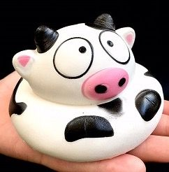 COW SQUISHY #83236 BY BC MINI